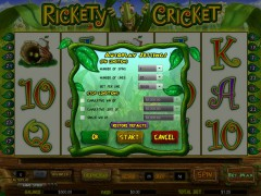 Rickety Cricket tragaperras77.com CryptoLogic 2/5