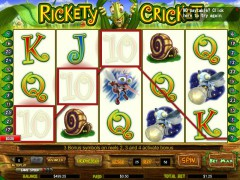 Rickety Cricket tragaperras77.com CryptoLogic 4/5