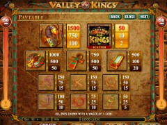 Valley of the Kings tragaperras77.com Genesis Gaming 3/5