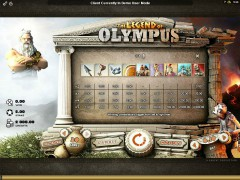 The Legend Of Olympus tragaperras77.com Microgaming 2/5