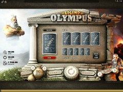 The Legend Of Olympus tragaperras77.com Microgaming 5/5